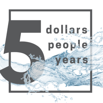 Why don't we start with 5? – Sponsor Water